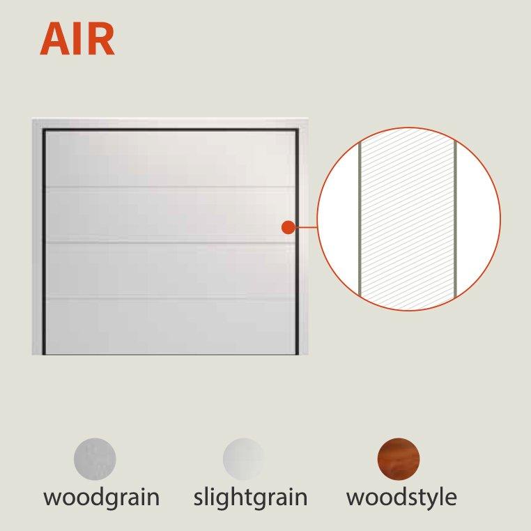 דוגמאת air לדת חשמלית למוסך